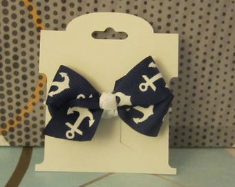 Small hair bows with hair tie