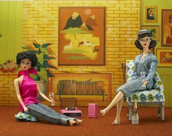 Barbie Lounge Fine Art Photograph