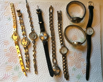 Junk watches for crafts