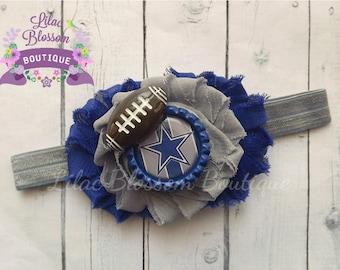 Dallas Cowboys Baby Headband, Cowboys Baby Girl Headband, Cowboys Baby Outfit, Dallas Baby Girl, Cowboys Girl Headband, Cowboys Baby Shower