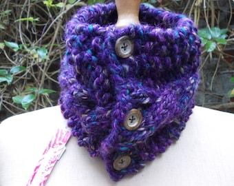 -La Capelle chunky neck warmer cowl