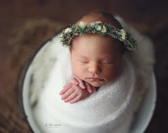 Angora Wrap - Angora Layer - Knit Wrap - Newborn Photo Prop - Knit Newborn Wrap - Newborn Photography Wraps - Boy Photo Props