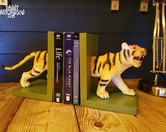 Limited Edition Tiger Bookends