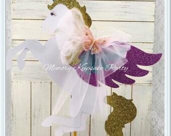 Unicorn Centerpiece - Unicorn Birthday - Unicorn Party - Unicorn Decorations - Pegasus - Birthday - Baby Shower - First Birthday - Customize