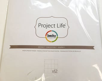 Project Life Design F Pocket Pages