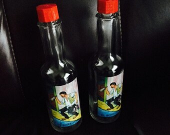 Loteria Chicana El Boracho Salt / Pepper Shakers