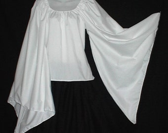 Choose Color - Angel Dagget Sleeve Fantasy Chemise Top Choose Size LoriAnn Costume Designs Great For Renaissance Events