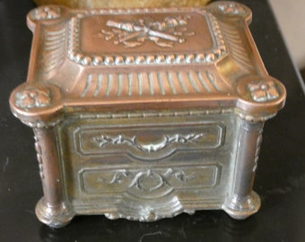 antique  jewel box