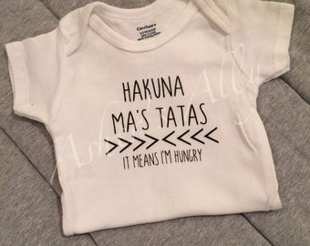 Hakuna Ma's Tatas/Breastfeeding Shirt/Breastfeeding/Baby shirts/Lion King
