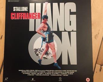 Cliffhanger - PAL Laserdisc LD (Sylvester Stallone)