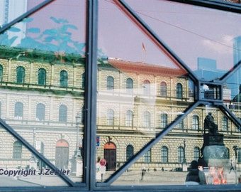 Reflections, Fine Art Photography, Historic Building, Print, Munich