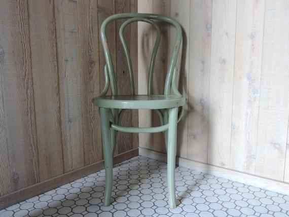 Jahrgang Bugholz Stuhl Thonet Stil Cafe Stuhl Esszimmer Akzent