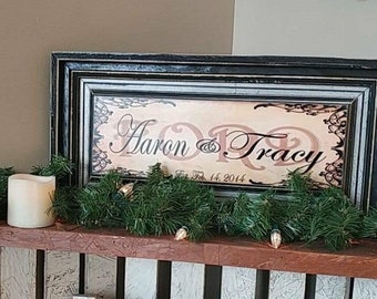TLC Customized Wedding Frame