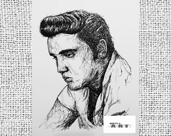 Elvis Presley 8x10 Framed Art Print