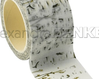 Alexandra Renke Wash Tape - Birch Forest