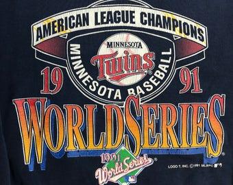 Vintage Twins World Series Sweatshirt