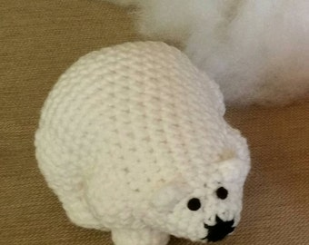 Cuddly Polar Bear Plushie