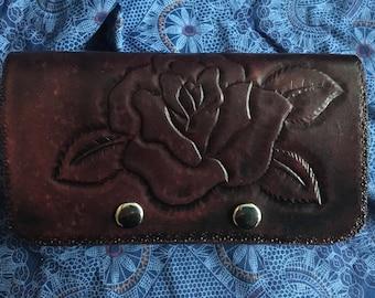 Handmade, handtooled leather cellphone case!
