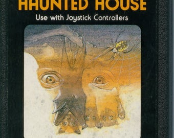 Atari 2600 Haunted House Game Cartridge