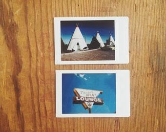 instant film photo set >> Route 66