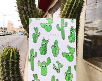Central 23 Cactus Notebook