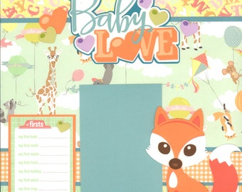 Baby Love Boy 2017 Scrapbook Kit