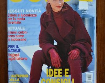 Burda October 1997 Autumn/Winter (ITALIAN) Pattern Book