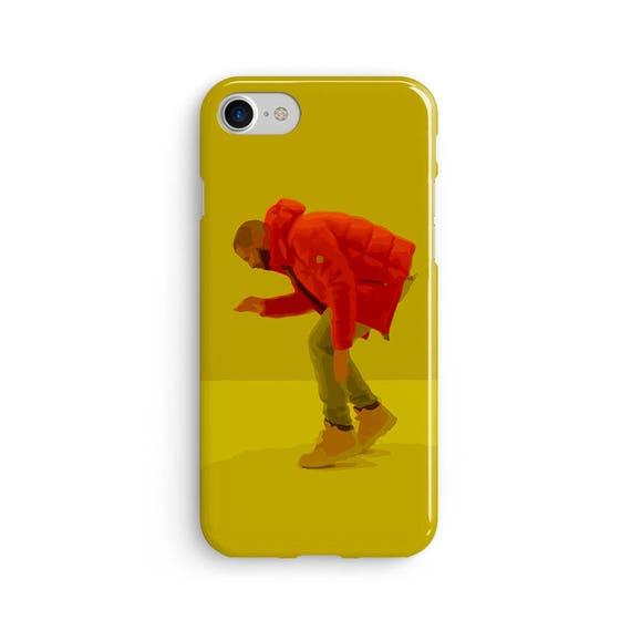 Drake hotline bling illustration  iPhone X case - iPhone 8 case - Samsung Galaxy S8 case - iPhone 7 case - Tough case 1P003