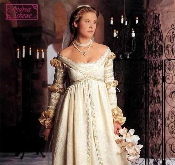 Renaissance Faire Wedding Dress Gown Costume History Mccalls: Simplicity The Ever After Dress Pattern Renaissance Wedding