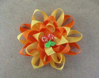 Loopy Hair bow for baby, toddler, young girl, big girl or even your big 4 legged girl!