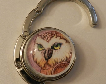 Owl Chic Handbag  Purse Holder V3