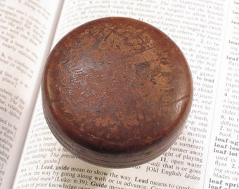 Vintage Wood Door Knob - Antique Wooden Doorknob - A