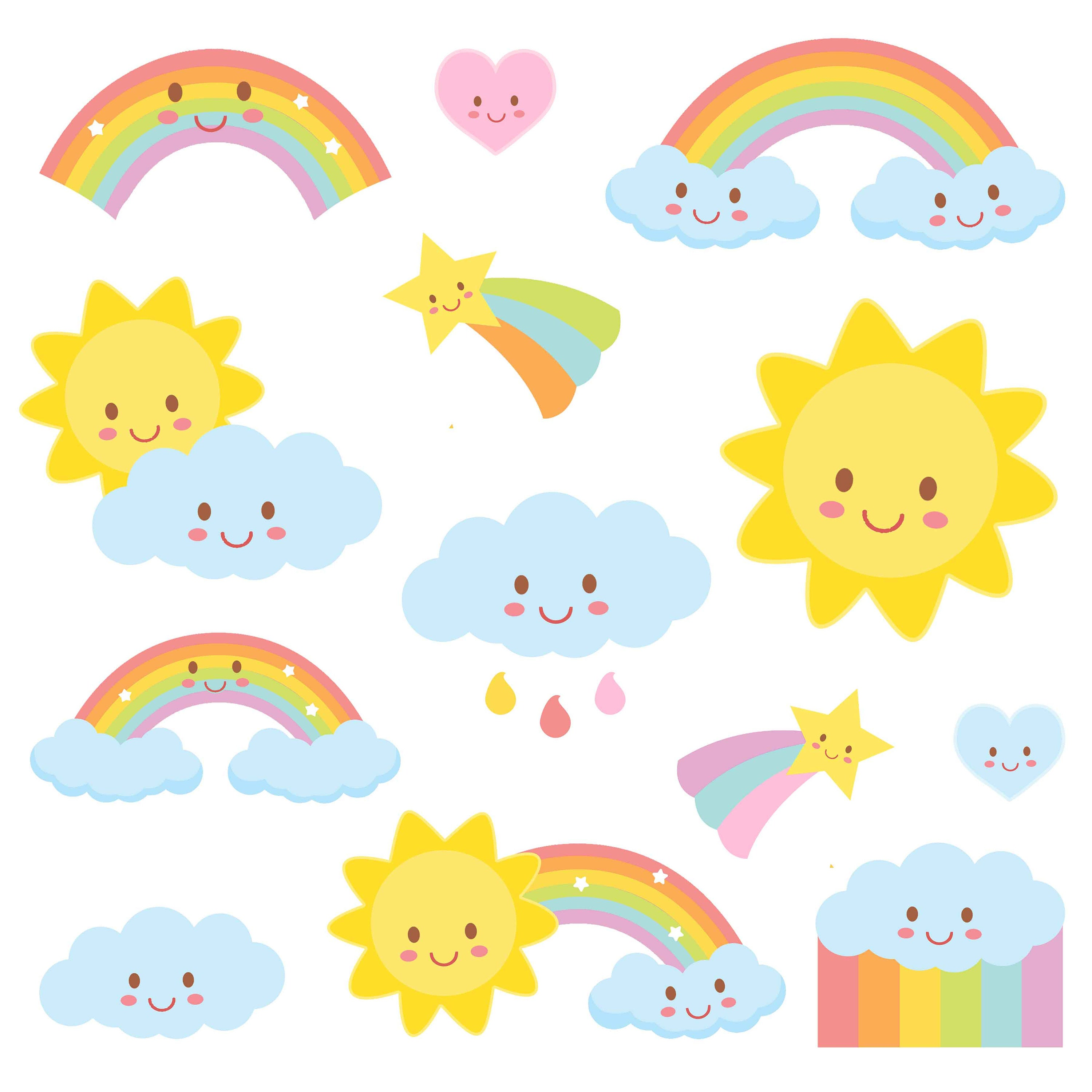 Weather clipart rainbow clipart weather party commercial zoom voltagebd Image collections
