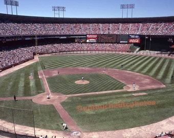 Candlestick Park Photograph on Fuji Photo Day on Saturday, May 14, 1988