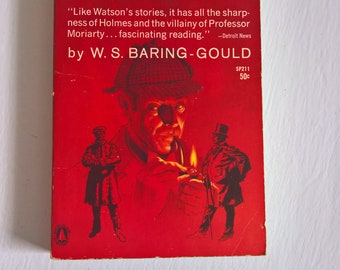 Sherlock Holmes of Baker Street by W. S. Baring-Gould --- Vintage Victorian Detective Classic Literature Stories --- Retro Pulp Fiction Book