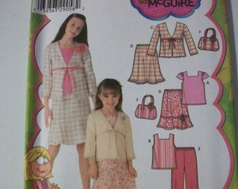 Simplicity 4669 Childs (HH 3-6) top, skirt, pants, jacket and bag