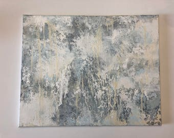 """16 x 20 """"Blessed and Highly Favored"""" Original Abstract Painting"""