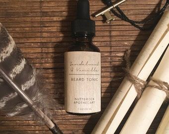 BEARD TONIC || Sandalwood & Vanilla