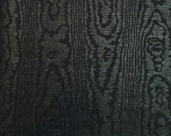 Haute Couture - 35cm x 25cm piece dark green cotton Brocade