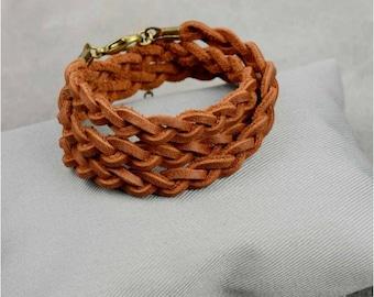 bracelets pour femme, bracelet boho, Wrap Boho Bracelet gainé de cuir bracelet femmes bracelet cadeau pour bracelets en cuir pour femme bracelet femmes