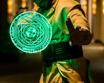 Doctor Strange Light up LED Spell disc prop ( cosplay, halloween, conventions )