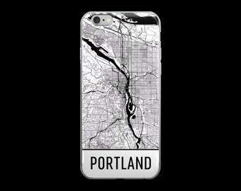 Portland iPhone Case, Portland Phone Case, iPhone Portland, Portland OR Phone Case, Portland iPhone 5 Case, Portland iPhone 6, Art, Gift