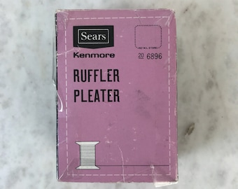 Sears Ruffler Pleater / Sears Kenmore Sewing Machine Parts / Ruffler Foot / Kenmore Sewing Machine Part 20 6896 / Ruffler Pleater Foot