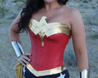 Wonder Superhero Woman COSTUME w/Navy and White Stars
