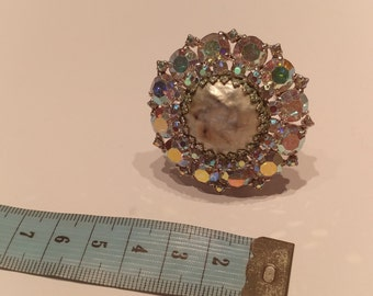 Weiss Vintage Costume Jewelry Brooch