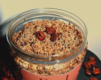 16 oz Organic Cinnamon Coffee Sugar Scrub