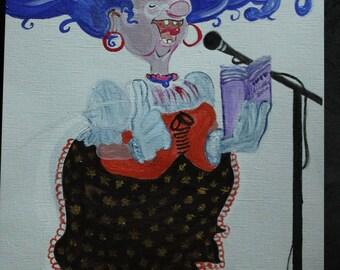 Design - Maggie sings Gospel...