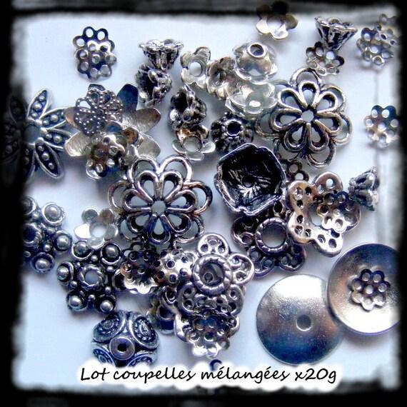SUPER set - Primer caps caps MIX 4-16 mm silver x20g