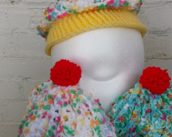 Cupcake hat for infant/child