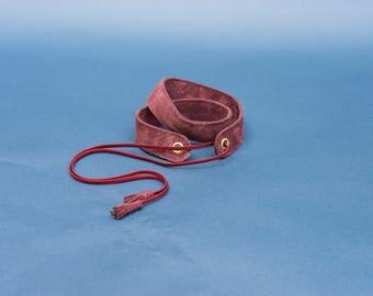 Louie leather belt